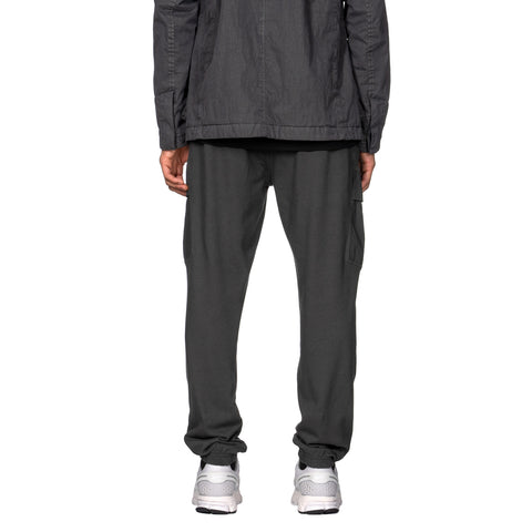 Stone Island Gauzed Cotton Jersey 2 Pocket Sweat Pant Fumo, Bottoms