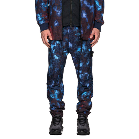 Stone Island Printed Heat Reactive Camo Pant Blue, Bottoms