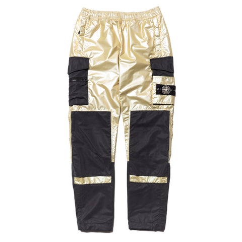 stone island Iridescent Coating Tela With Reflex Mat Pants Grano