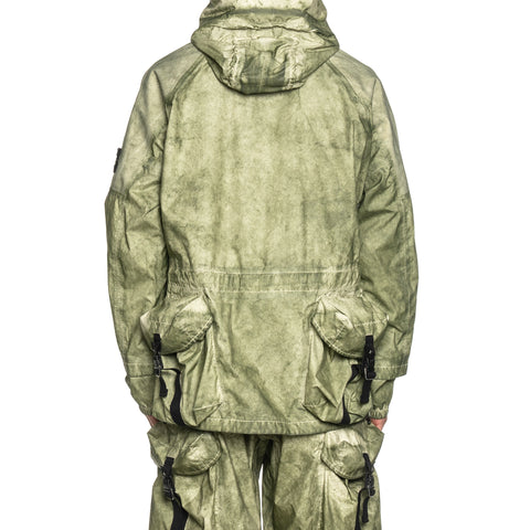 Stone Island Membrana Back Fidlock Pocket Hooded Pullover One, Outerwear