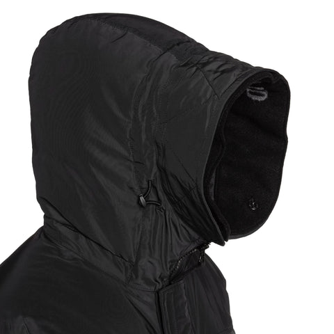 Stone Island Micro Reps Down Hooded Parka Black, Outerwear