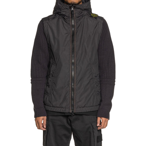 Stone Island Naslan Light Watro Knit Sleeve Jacket Antracite, Outerwear