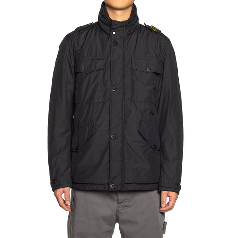 Stone Island Naslan Light Watro Primaloft Zip Jacket Black, Outerwear