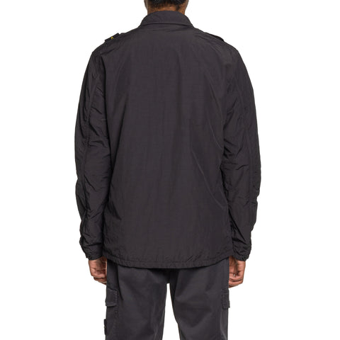 Stone Island Naslan Light Zip Shirt Jacket Antracite, Outerwear