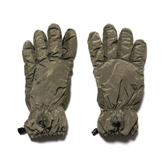 stone island Nylon Metal Garment Dyed Gloves Olive