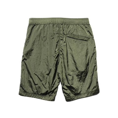 Stone Island Nylon Metal Ripstop Dyed Easy Short Olive, Bottoms