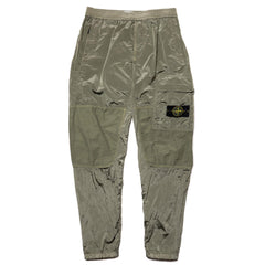 Stone Island Nylon Metal Watro Ripstop Garment Dyed 1 Pocket Pant Sage, Bottoms