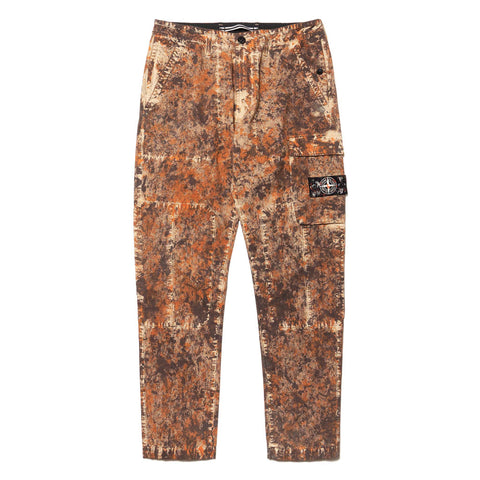 Stone Island Paintball Camo Cotton Cordura Tinto Capo Pant Moro, Bottoms