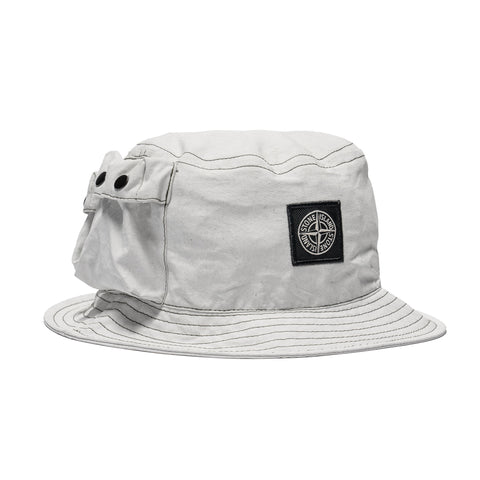 2cff17d5c7e2f Stone Island Plated Canvas Bucket Hat Sage