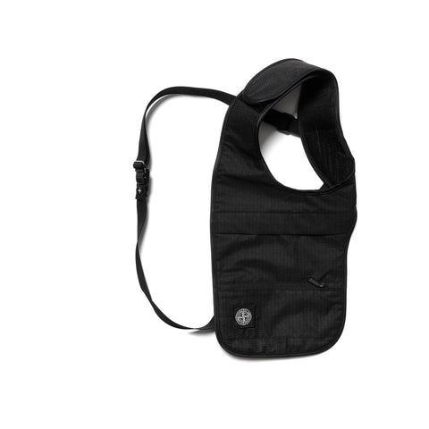 Stone Island Reflective Weave Ripstop-TC Garment Dyed Shooter Holster Black, Accessories