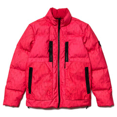 Stone Island Shadow Project Blouson Laser Poly-Hide 2L Down Jacket Red, Outerwear