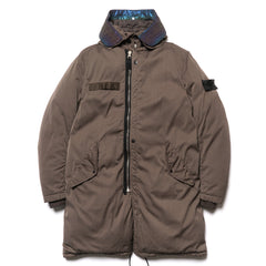 stone island shadow project D-NW Garment Dyed Down Fishtail Parka Capo Lungo Vera Pi Sottobosco