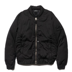 stone island D-NW Garment Dyed Down MA-1 Jacket Black