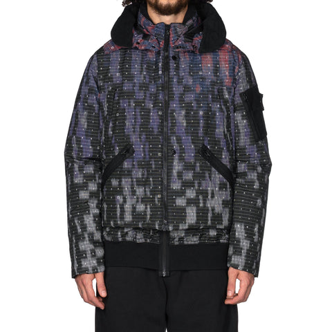 Stone Island Shadow Project DPM Chine Down Jacket Black, Outerwear