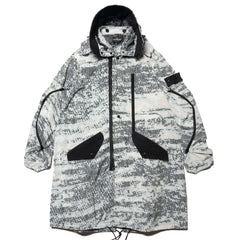 Stone Island Shadow Project DPM Chine Parka Gray, Jackets