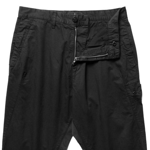 Stone Island Shadow Project Enzyme Treated Comfort Cotton Gabardine Garment Dyed Pant Black, Bottoms