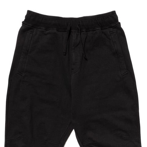 Stone Island Shadow Project Gauzed Heavy Fleece Pants Black, Bottoms