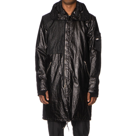 Stone Island Shadow Project Grid Nylon Garment Dyed Jacket Black, Jackets