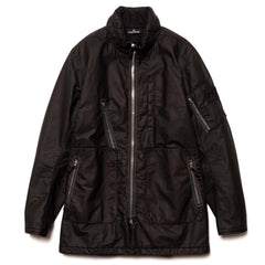 Stone Island Shadow Project Lasered Poly-Hide 2L Stand Collar Jacket Black, Outerwear