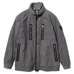 Stone Island Shadow Project Lined Blouson Naslan Rip-Stop Garment Dyed Grigio, Outerwear