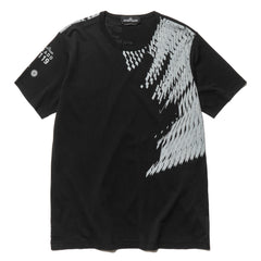 Stone Island Shadow Project Mako Cotton Jersey Garment Dyed SS T-Shirt Black, T-Shirts