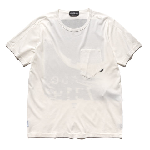 Stone Island Shadow Project Mako Cotton Jersey Garment Dyed T-Shirt Natural, T-Shirts