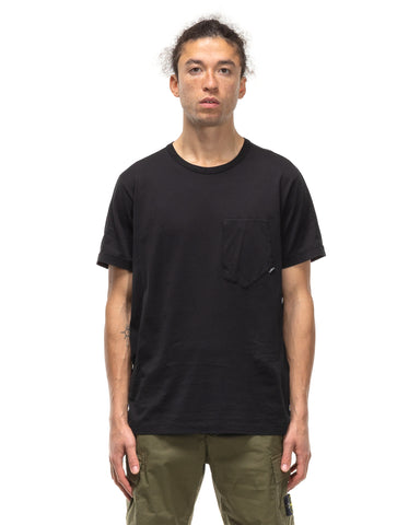 Stone Island Shadow Project Mako Cotton Jersey Garment Dyed T-Shirt Black, T-Shirts