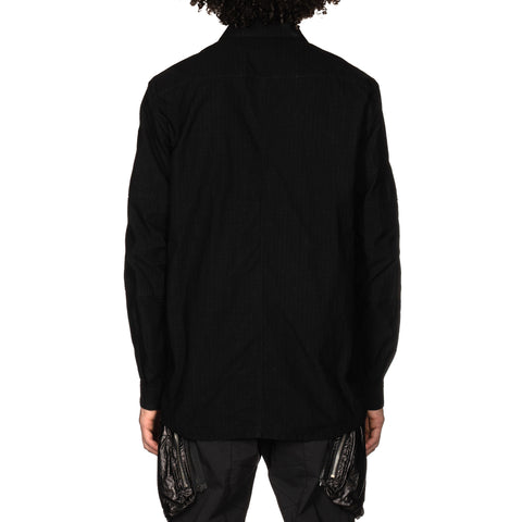 Stone Island Shadow Project Naslan Rip-Stop Shirt Jacket Black, Outerwear