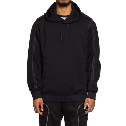 Stone Island Shadow Project Nylon Felpa Garment Dyed PO Hooded Sweater Black, Sweaters