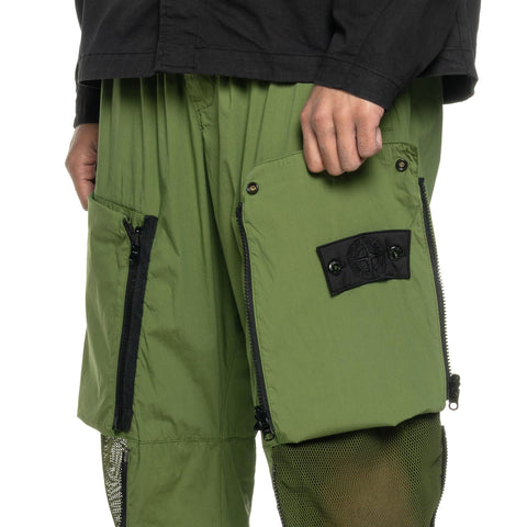 "Stone Island Shadow Project Stretch Cotton Nylon Tela Garment Dyed ""Convert"" Pant Olive, Bottoms"
