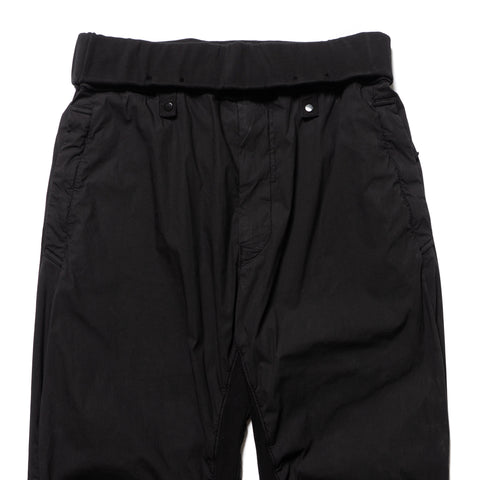 Stone Island Shadow Project Stretch Cotton Nylon Tela Garment Dyed Pants Black, Bottoms