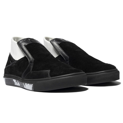 Stone Island Shadow Project Suede Shoes Black, Footwear