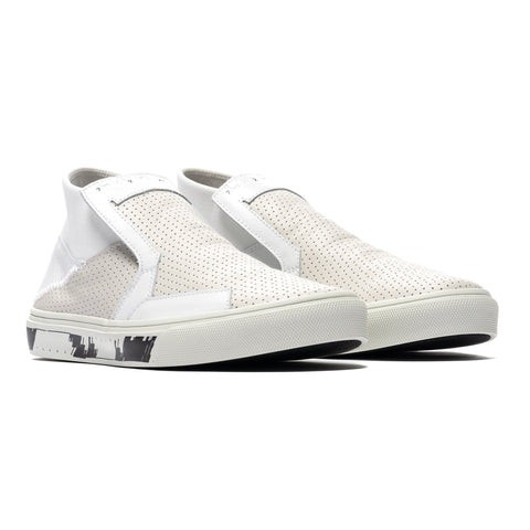 Stone Island Shadow Project Suede Shoes White, Footwear