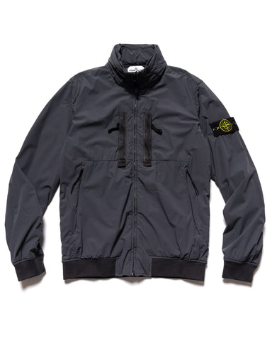 Stone Island Skin Touch Nylon-TC Bomber Jacket Charcoal, Outerwear