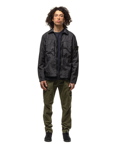 Stone Island Stretch Broken Twill 'Old Effect' 2 Pocket Slim Cargo Pant Olive, Bottoms
