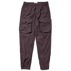 Stone Island Stretch Cotton Tela Paracadute Garment Dyed 2 Pocket Stretch Waist Pant Pewter, Bottoms