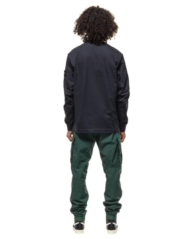 Stone Island Stretch Cotton Tela 'Paracadute' 2 Pocket Easy Pant Petrol, Bottoms