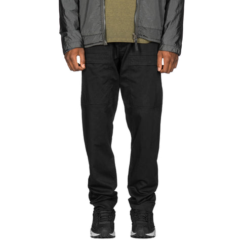 Stone Island Stretch Cotton Wool Satin Set-In Pocket Pant Black, Bottoms