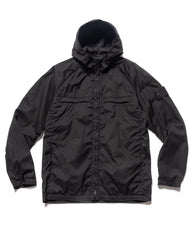 Stone Island Reversible Stretch Wool Nylon Ghost Piece Garment Dyed Jacket Black, Outerwear