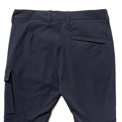 Stone Island Two Way Stretch Cotton Nylon Twill 1 Pocket Pant Blue, Bottoms