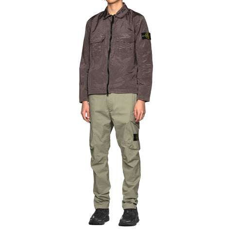 ccfb024195ba ... Bottoms Stone Island Two Way Stretch Cotton Nylon Twill Regular Tapered  2 Pocket Pant Sage