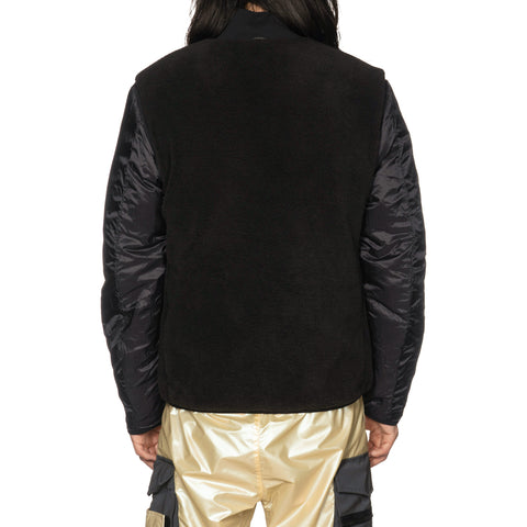 stone island Iridescent Coating Tela With Reflex Mat Coat With Detachable Waistcoat Grano
