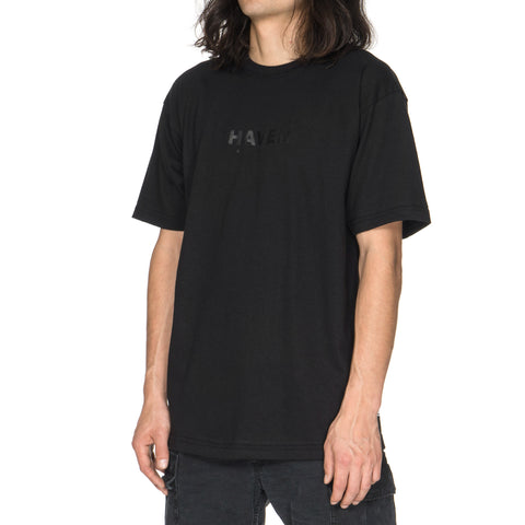 HAVEN Core Logo Jersey T-Shirt Black/Black