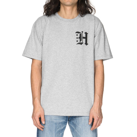 HAVEN Gothic H Jersey T-Shirt Gray