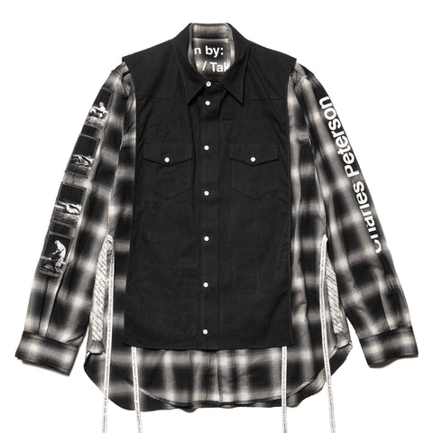 TAKAHIROMIYASHITA TheSoloist. 180 Shirt. Type II Black, Tops