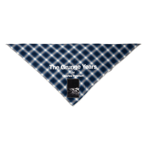 TAKAHIROMIYASHITA The Soloist. Boy Scout Scarf Blue/White, Accessories