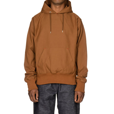 Takahiromiyashita Thesoloist. Pullover Hoodie (A) Camel, Sweaters