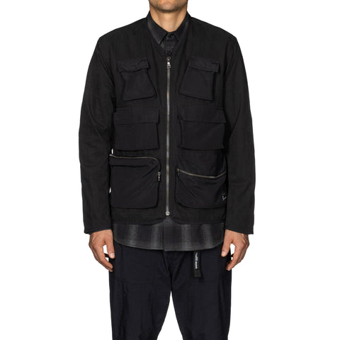 HAVEN Tactical Jacket - Cotton Nylon Ripstop Black, Jackets