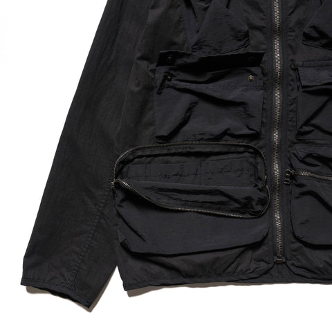 HAVEN Tactical Liner Jacket - Cotton Nylon Ripstop Black, Outerwear