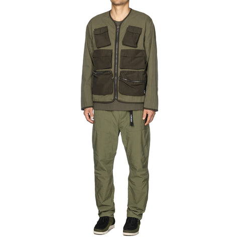 55f2569454 ... Tactical Jacket - Cotton Nylon Ripstop Olive